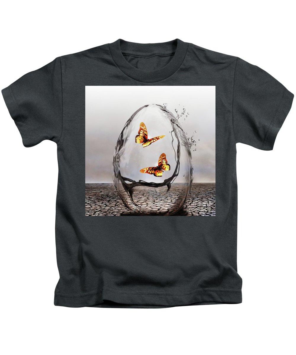 Art Kids T-Shirt featuring the photograph Precious by Jacky Gerritsen