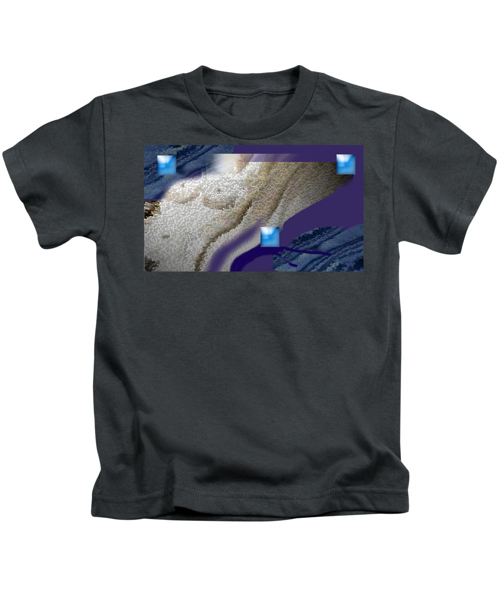 Abstract Kids T-Shirt featuring the digital art Prelude To A Dream by Steve Karol