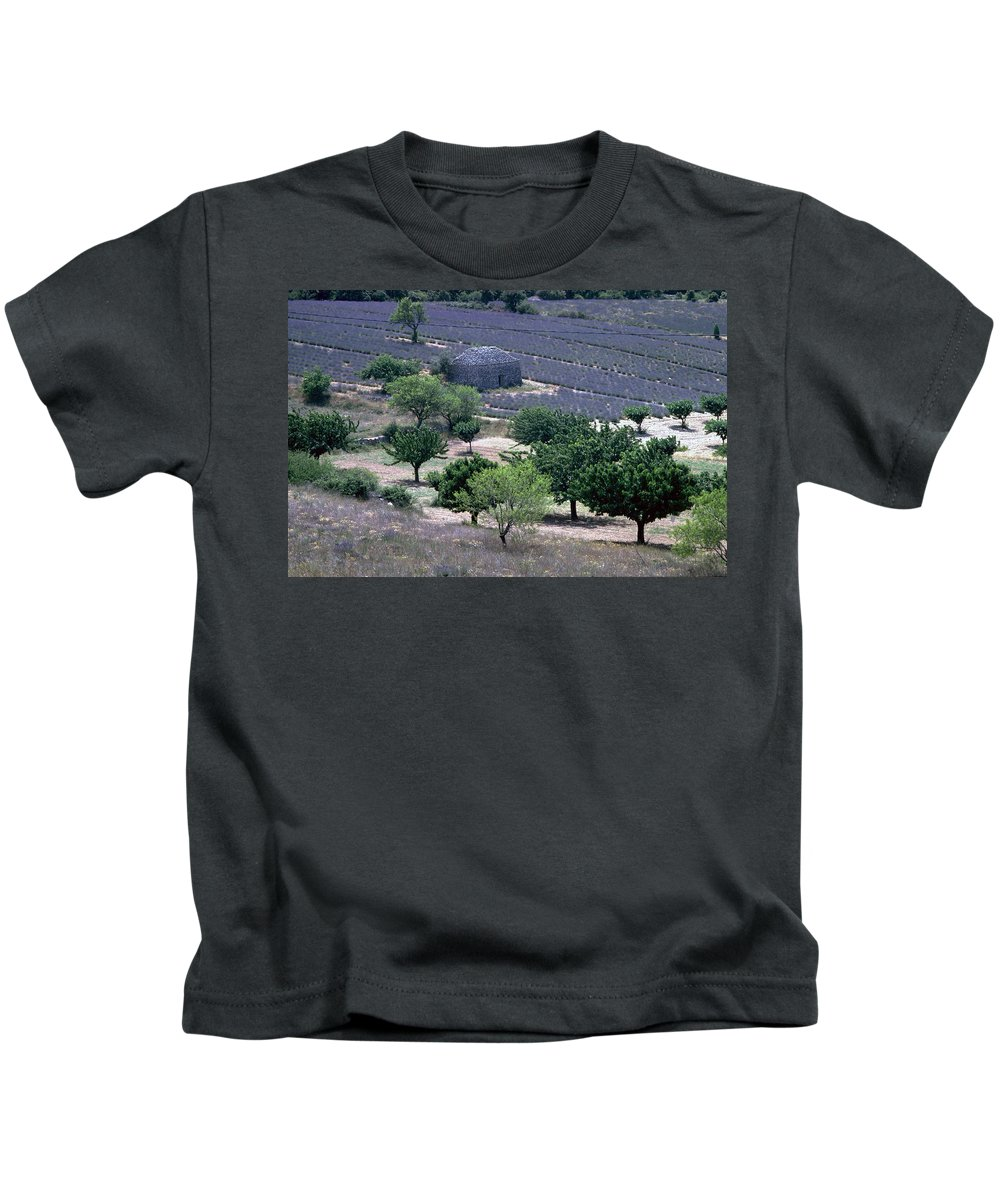 Provence Kids T-Shirt featuring the photograph Provence by Flavia Westerwelle