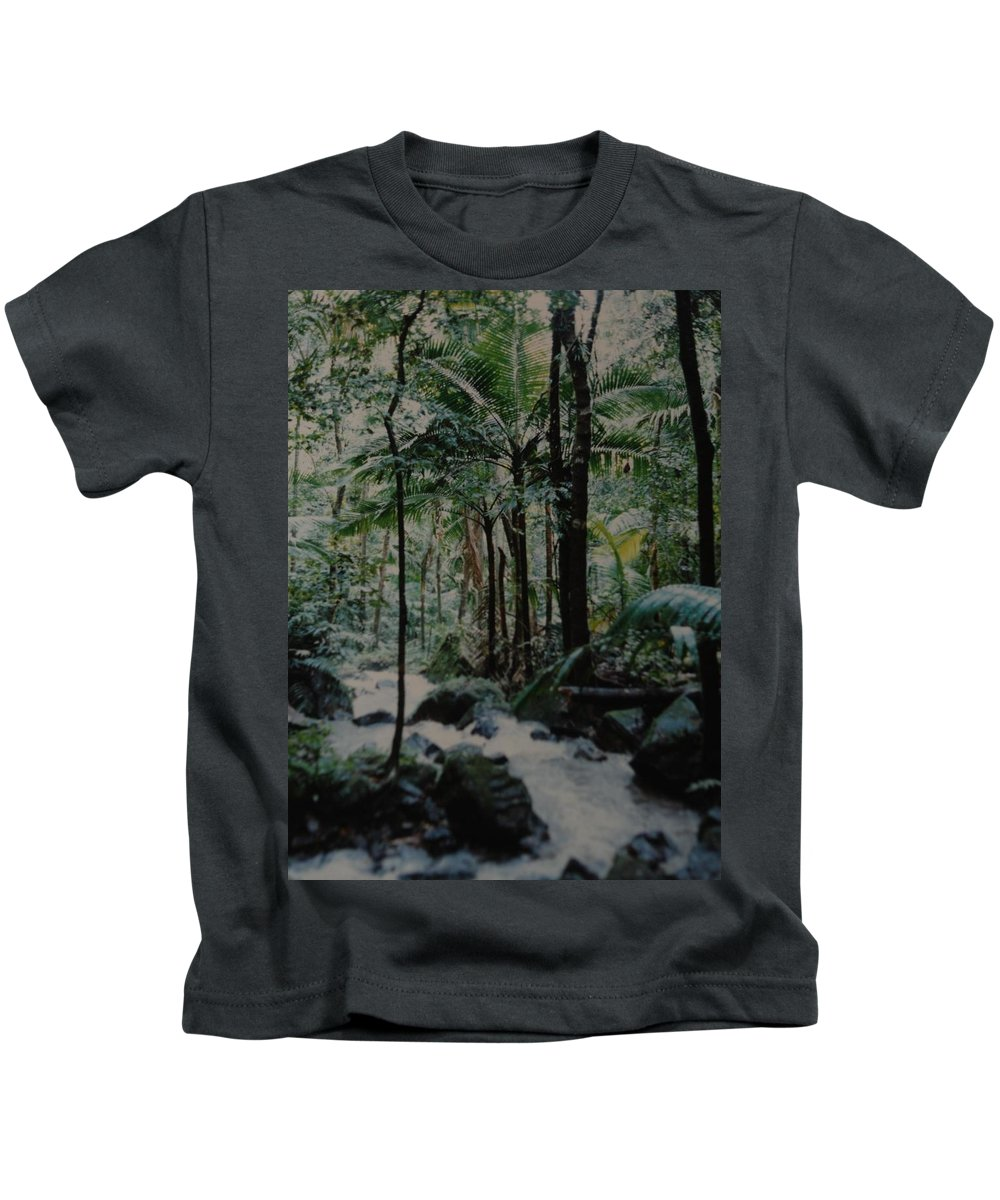 Trees Kids T-Shirt featuring the photograph Puerto Rico by Rob Hans
