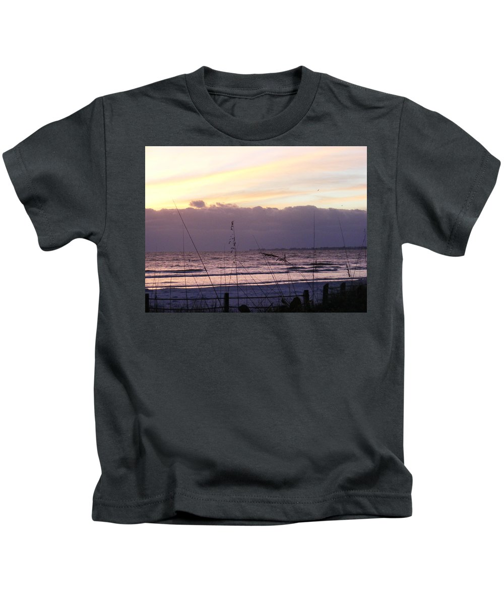 Landscape Kids T-Shirt featuring the photograph Purple Haze by Ed Smith