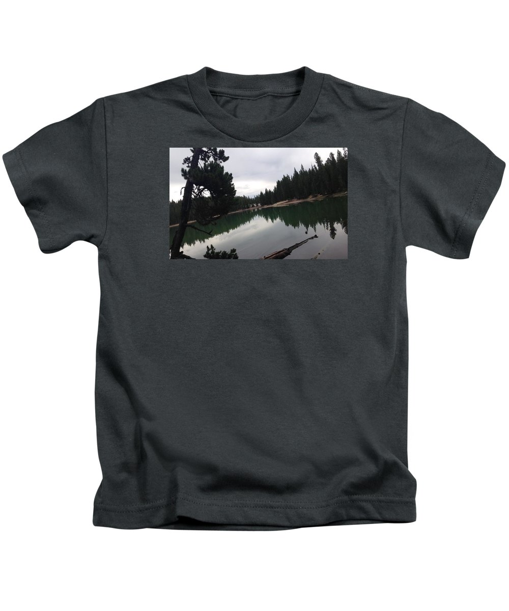 Landscape Kids T-Shirt featuring the photograph Quiet Reflection by Sydney Mark