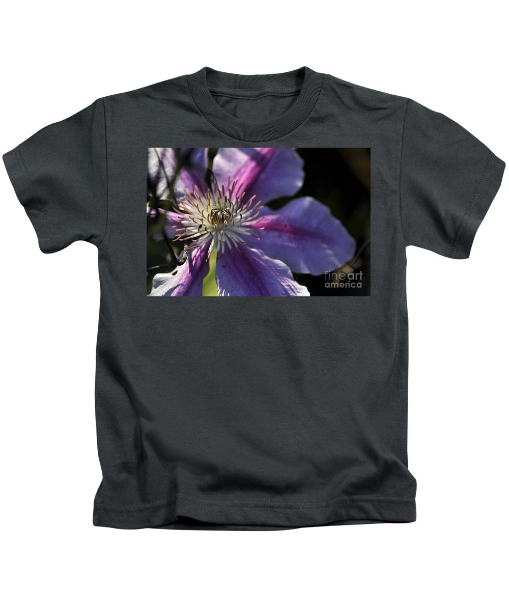 Clay Kids T-Shirt featuring the photograph Reach For The Sun by Clayton Bruster