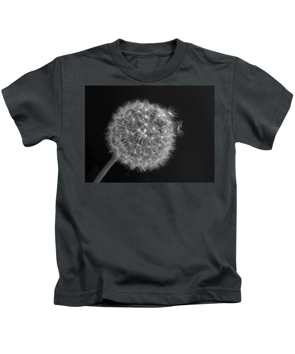 Black And White Kids T-Shirt featuring the photograph Ready For Takeoff by Thomas Pipia