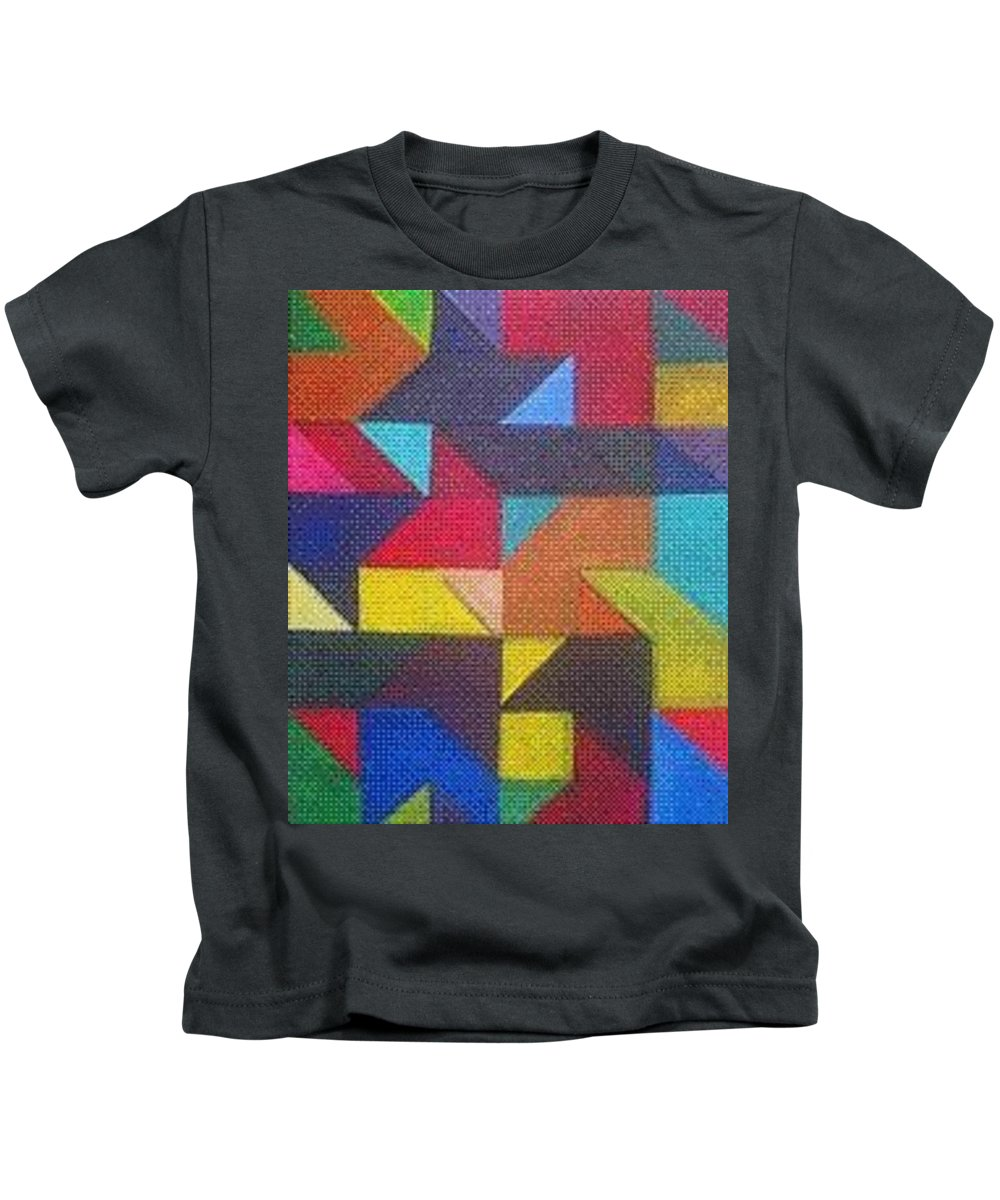 Digitalize Image Kids T-Shirt featuring the digital art Real Sharp by Andrew Johnson