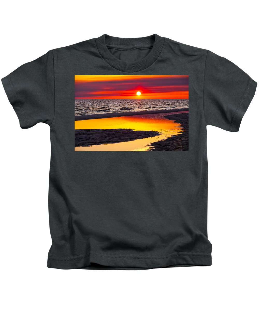 Reflection Kids T-Shirt featuring the photograph Reflections by Janet Fikar