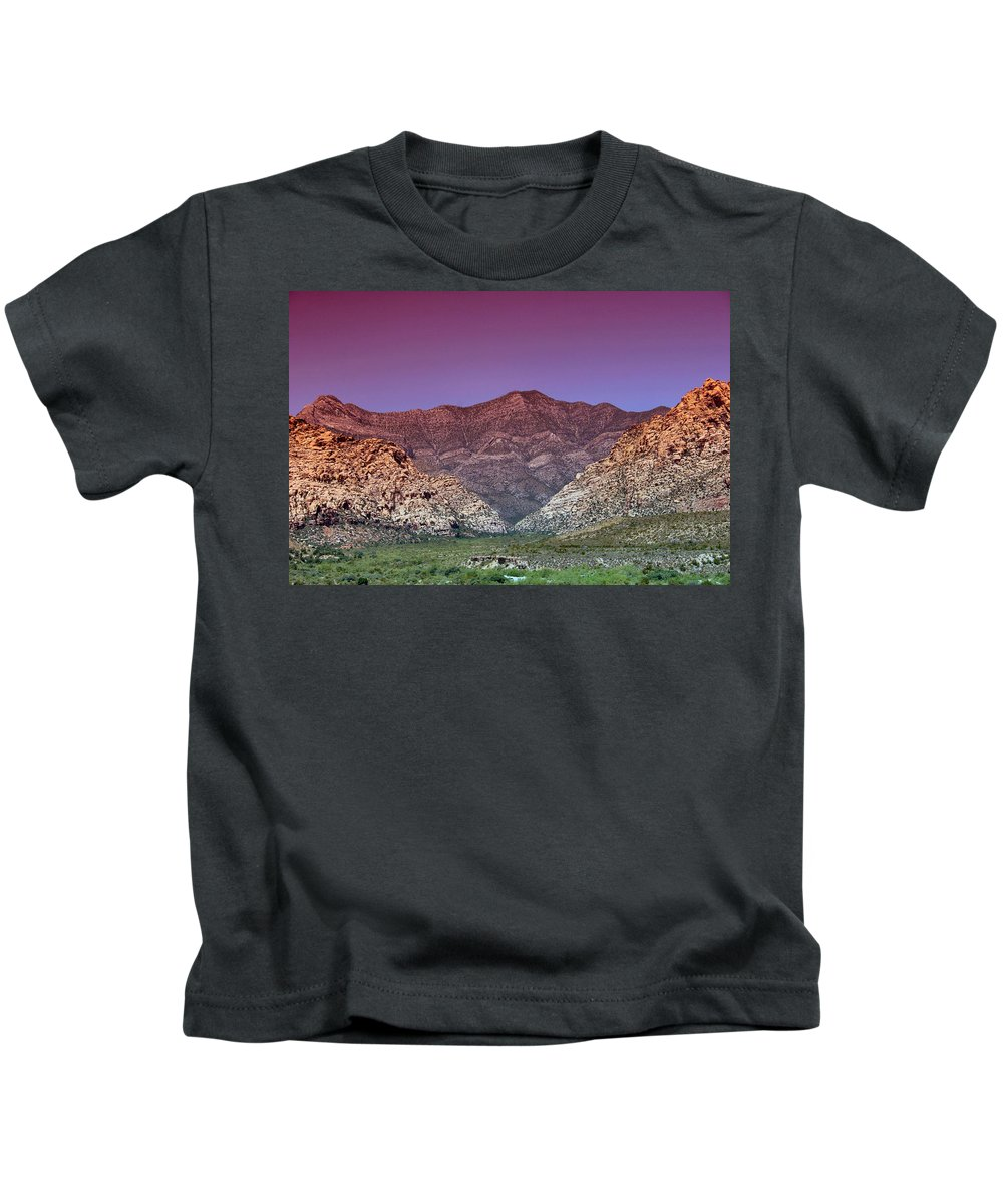 Mountain Kids T-Shirt featuring the photograph Regal Desert by DJ Florek