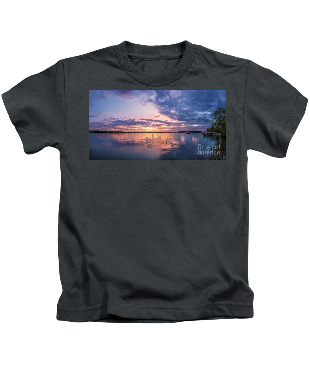 Clouds Kids T-Shirt featuring the photograph Resting La Belle by Andrew Slater