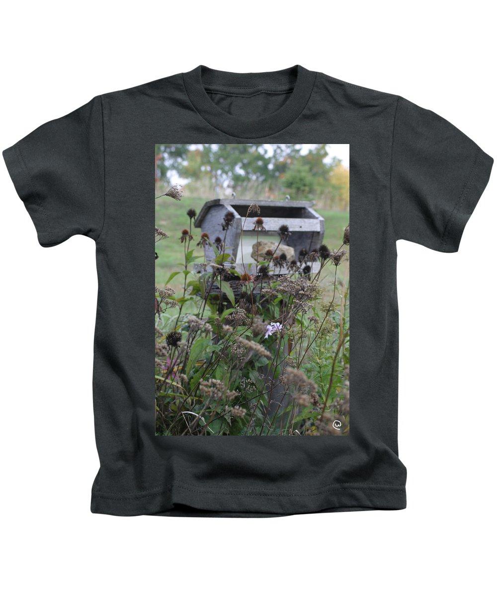 Retreat Kids T-Shirt featuring the photograph Retreat by Bjorn Sjogren