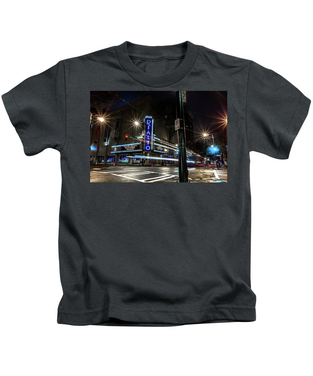 Atlanta Kids T-Shirt featuring the photograph Rialto Theater by Kenny Thomas