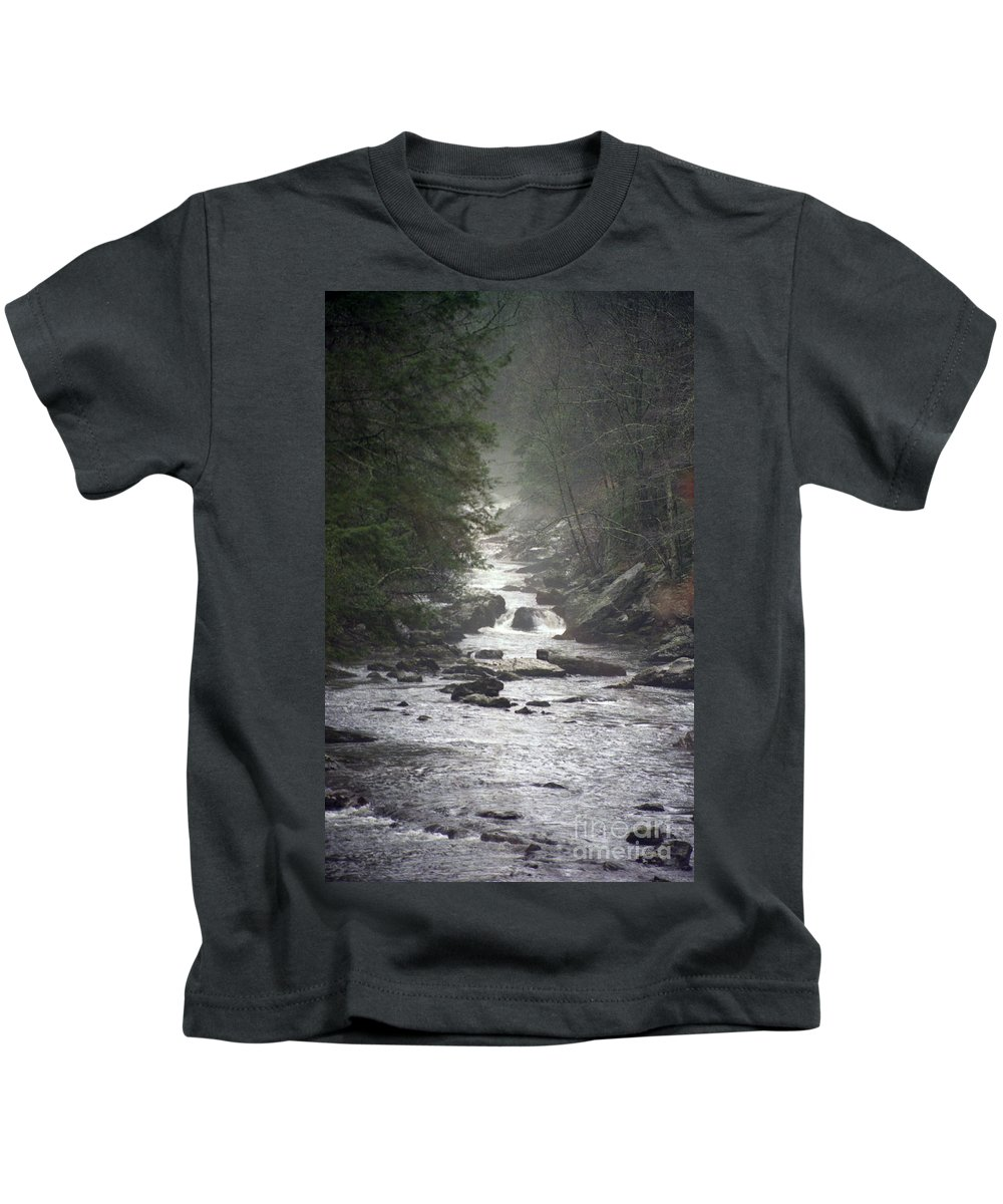 River Kids T-Shirt featuring the photograph River Run by Richard Rizzo