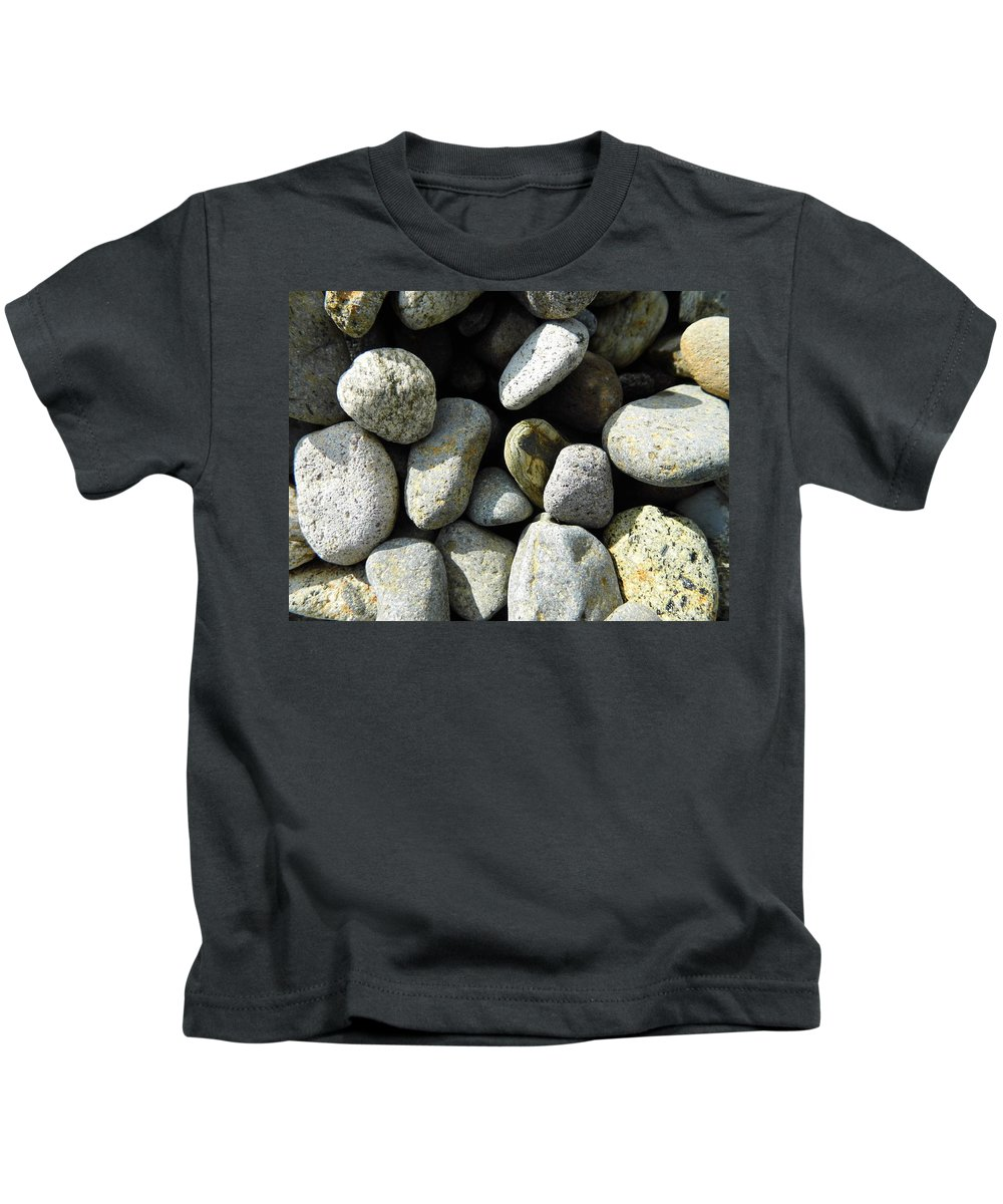 Rock Kids T-Shirt featuring the digital art Rocks by Palzattila