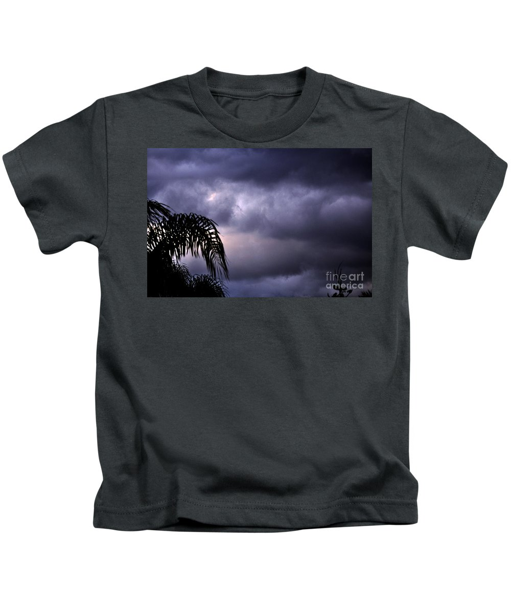 Clay Kids T-Shirt featuring the photograph Rolling In . . . by Clayton Bruster