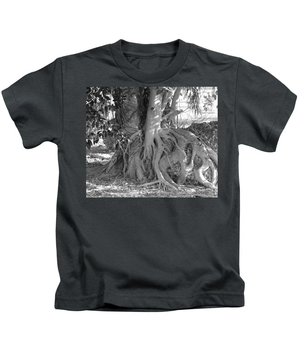 Tree Kids T-Shirt featuring the photograph Rooted Tree by Rob Hans