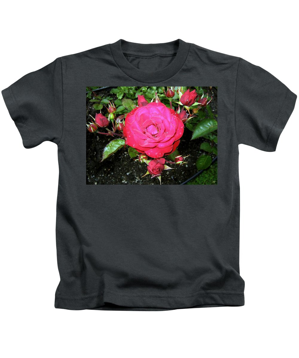 Rose Kids T-Shirt featuring the photograph Roses 5 by Will Borden