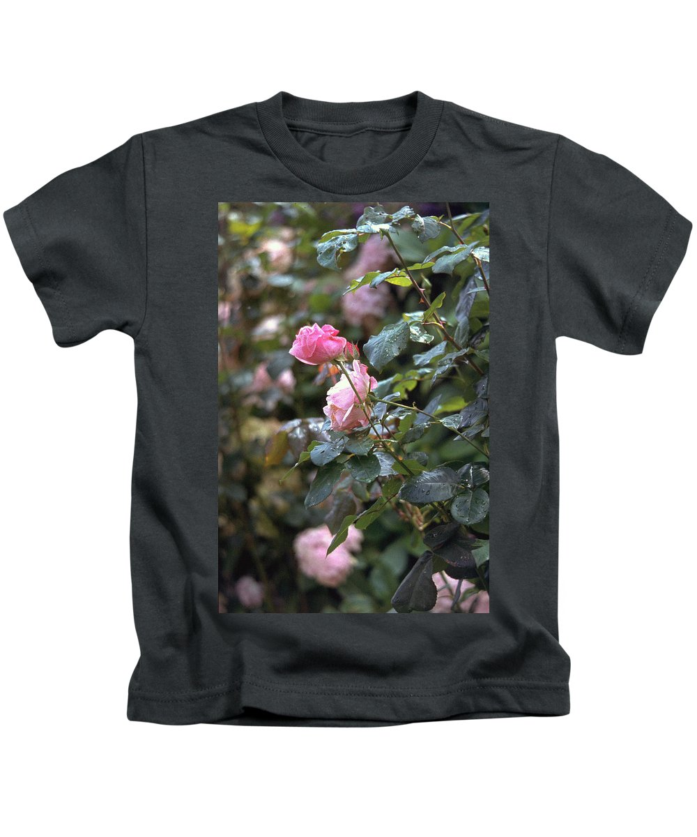 Roses Kids T-Shirt featuring the photograph Roses by Flavia Westerwelle
