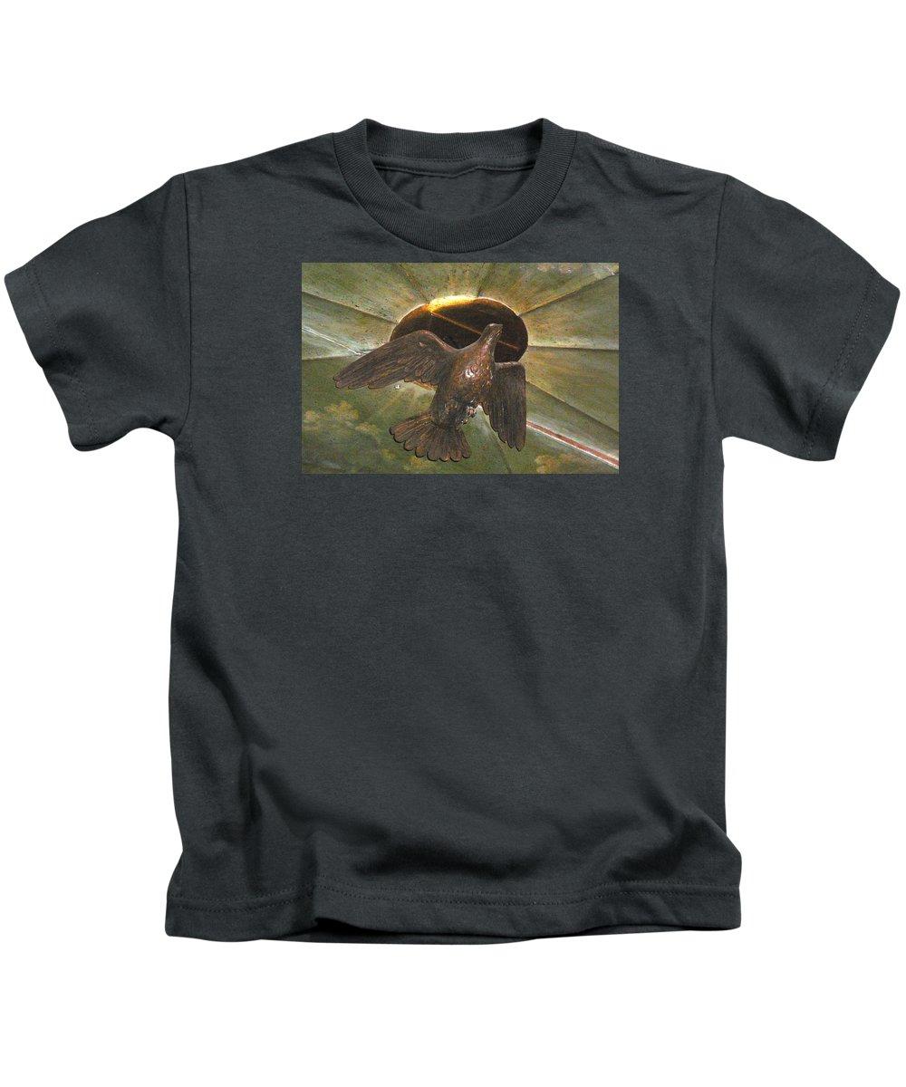 Ruacha Kids T-Shirt featuring the photograph Ruacha - Ruach - Holy Spirit by Dagmar Batyahav