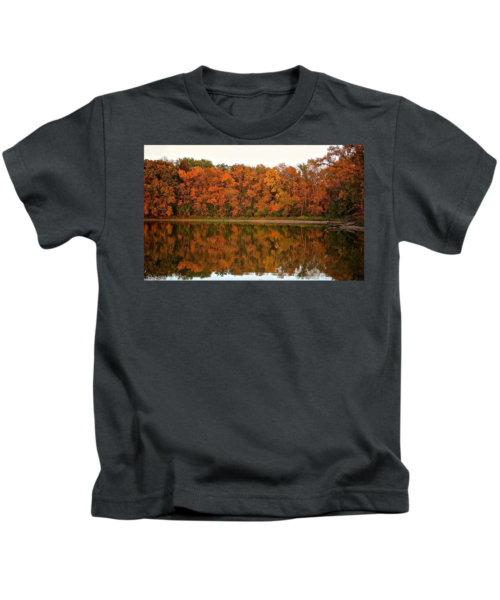 Plant Kids T-Shirt featuring the photograph Rustic Shores by Susan Herber