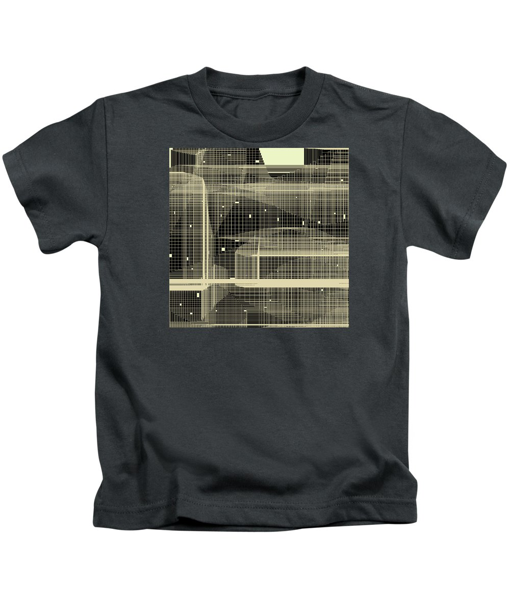 Abstract Kids T-Shirt featuring the digital art S.7.17 by Gareth Lewis