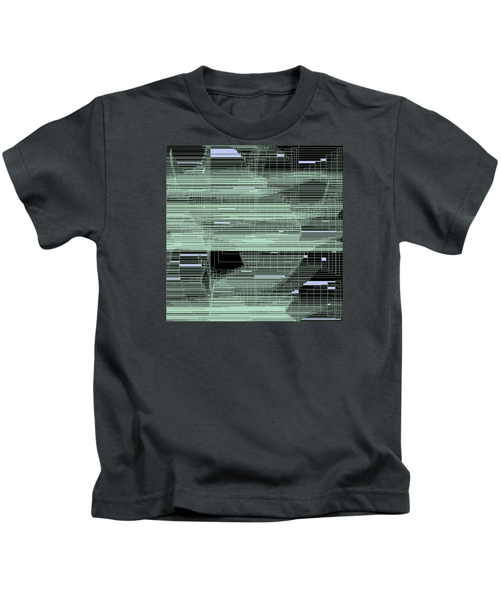 Abstract Kids T-Shirt featuring the digital art S.7.18 by Gareth Lewis