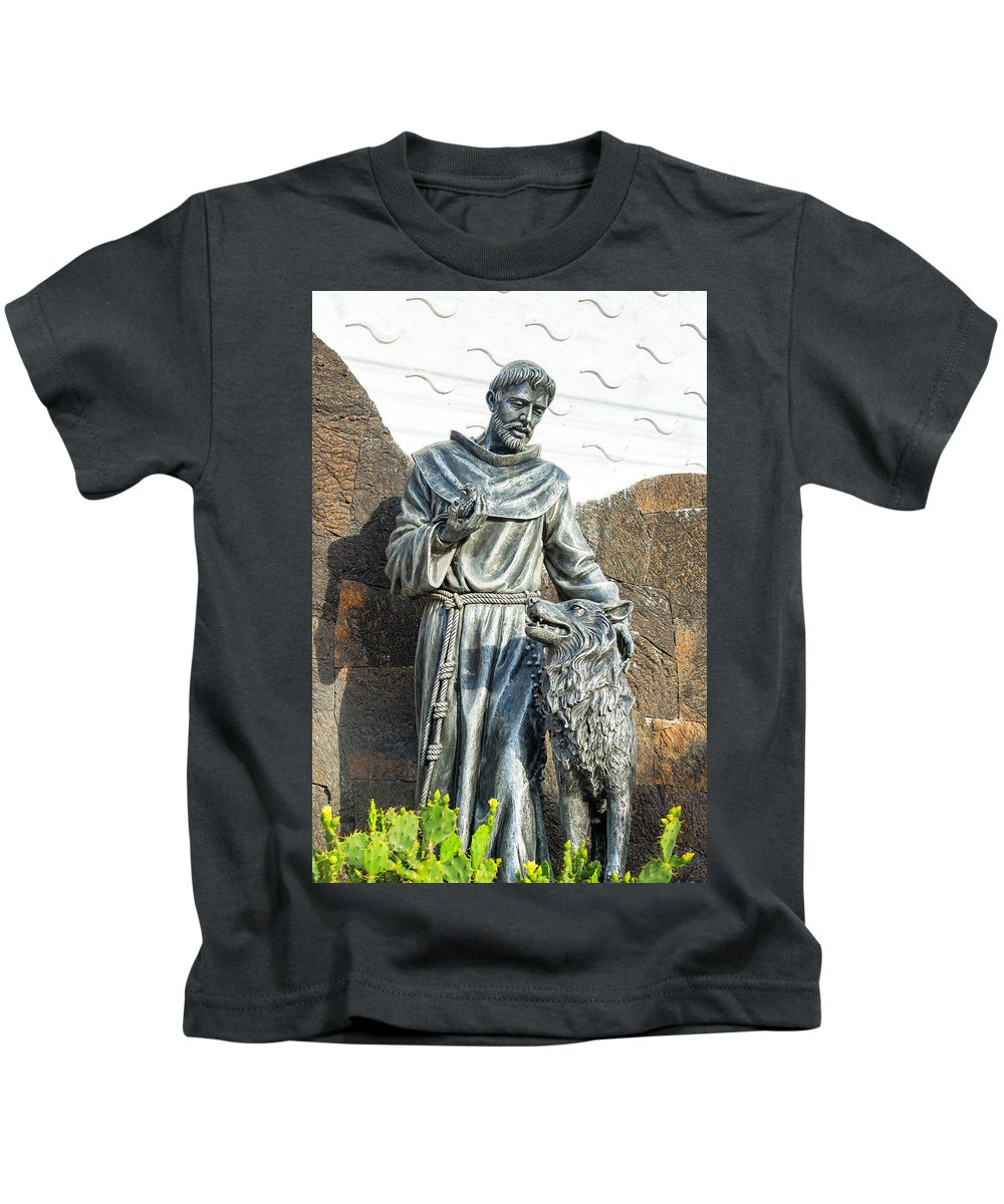 Puerto Villamil Kids T-Shirt featuring the photograph Saint Francis In Galapagos by Jess Kraft