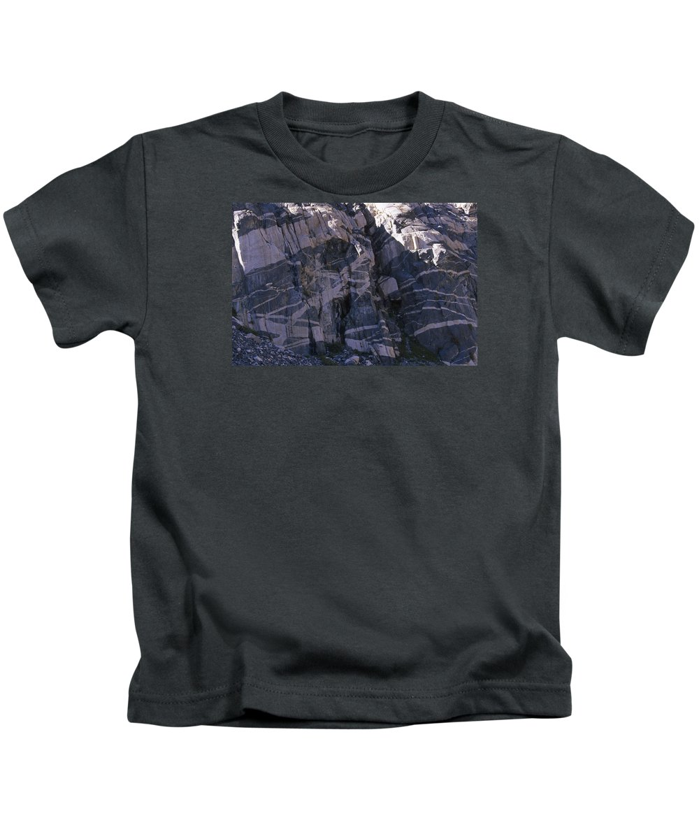Sierra Nevada Kids T-Shirt featuring the photograph Salt Water Taffy by Soli Deo Gloria Wilderness And Wildlife Photography