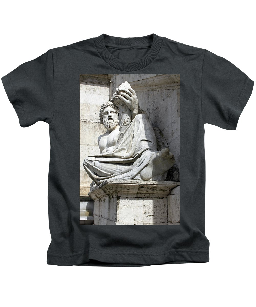 Satisfaction Kids T-Shirt featuring the photograph Satisfaction by Munir Alawi