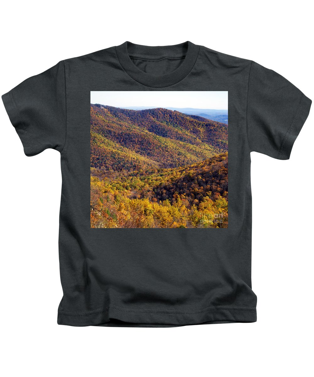 Scenic Tours Kids T-Shirt featuring the photograph Scene 8x8 by Skip Willits