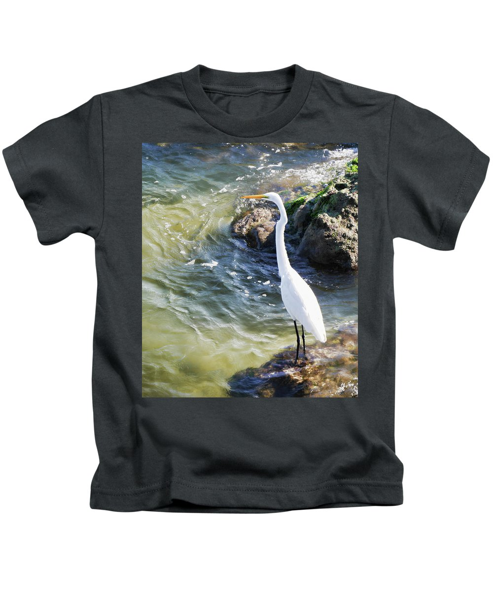 Kids T-Shirt featuring the photograph Sebastian Inlet State Park Iv by Tina Baxter