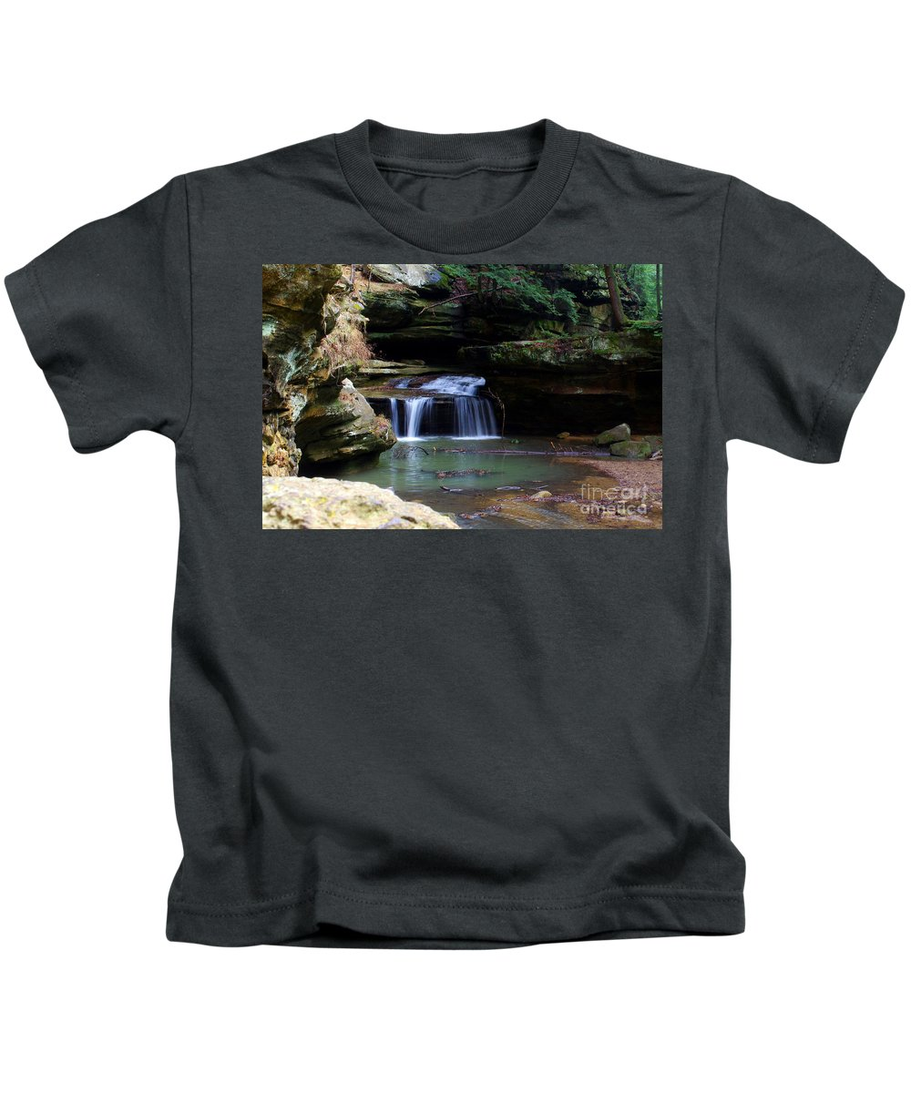 Kids T-Shirt featuring the photograph Serenity by Kitrina Arbuckle