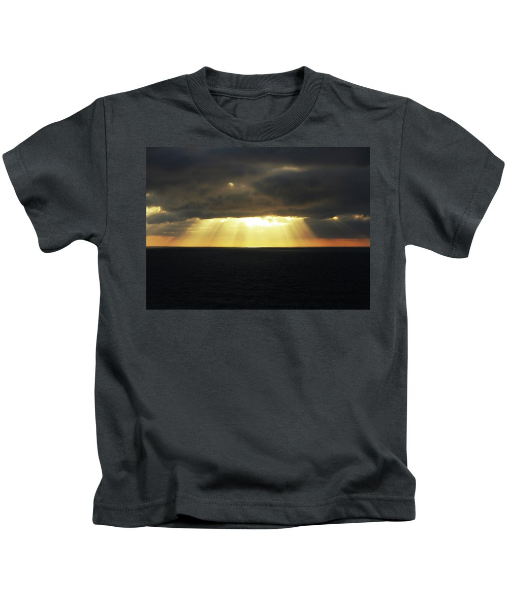 Kids T-Shirt featuring the photograph Shine Your Light by Pauline Darrow