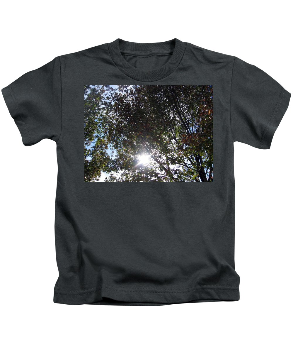 Shinning Sun Kids T-Shirt featuring the photograph Shinning Sun by Amy Hosp