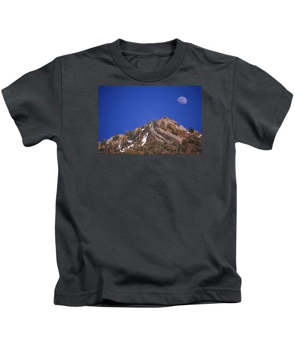 South Lake Kids T-Shirt featuring the photograph Sierra Sundae by Soli Deo Gloria Wilderness And Wildlife Photography