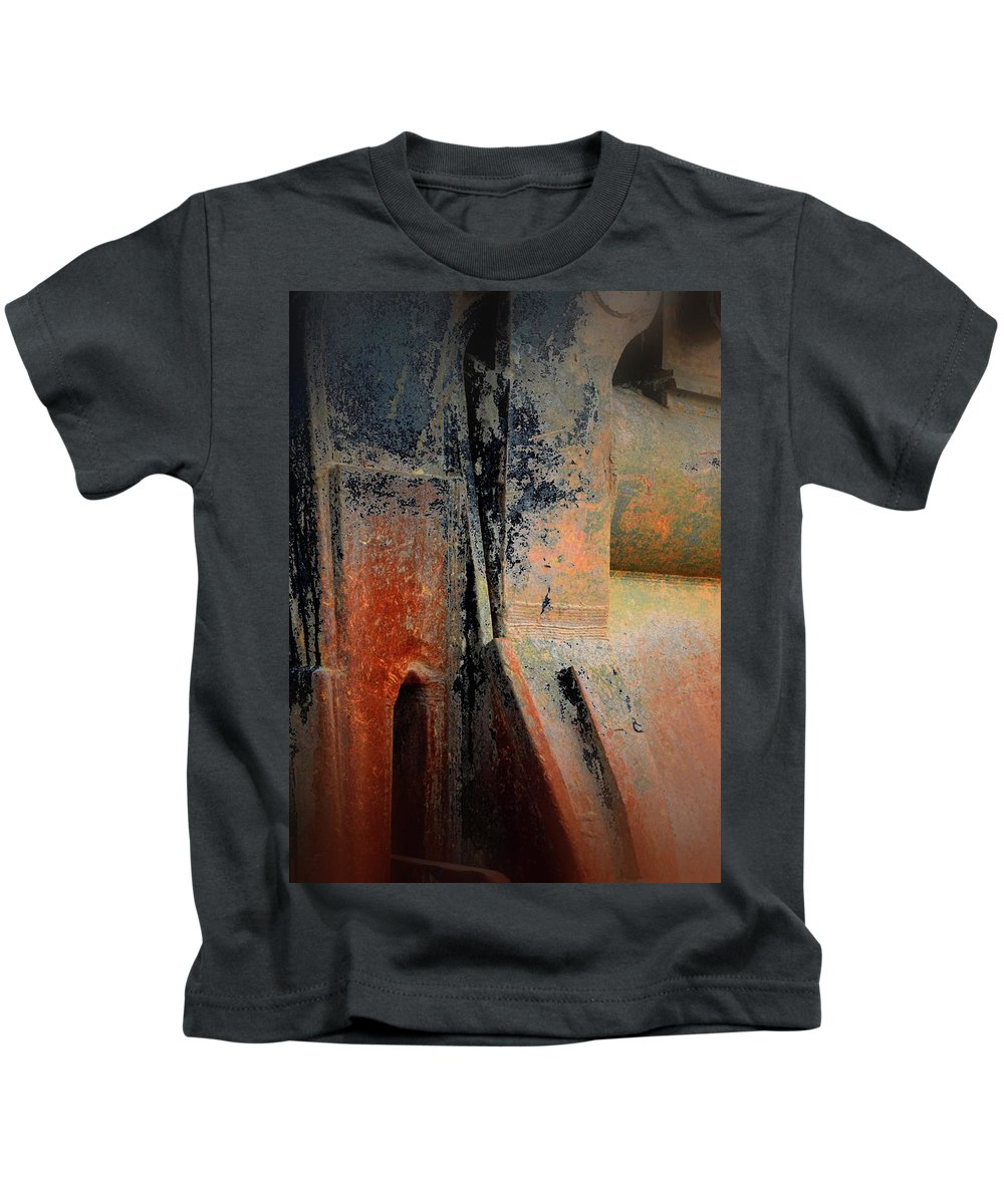 Kids T-Shirt featuring the photograph Silverbell Mining Bucket by Bradford Turner