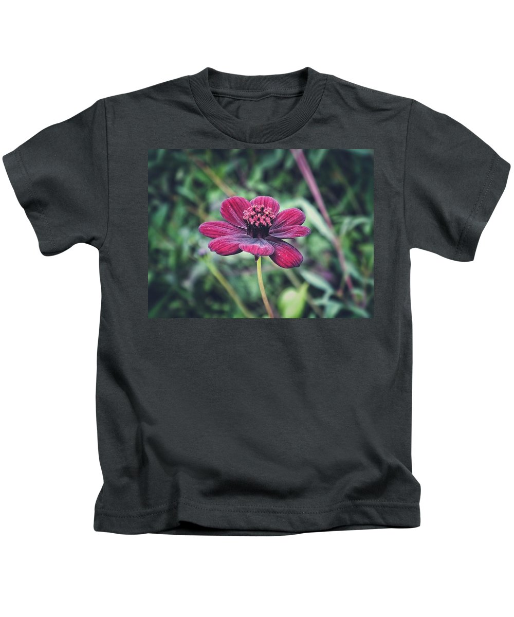 Nature Kids T-Shirt featuring the photograph Simple Perfection by Karen Stahlros
