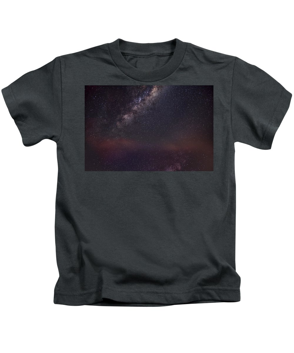 Sky Kids T-Shirt featuring the digital art Sky by Dorothy Binder
