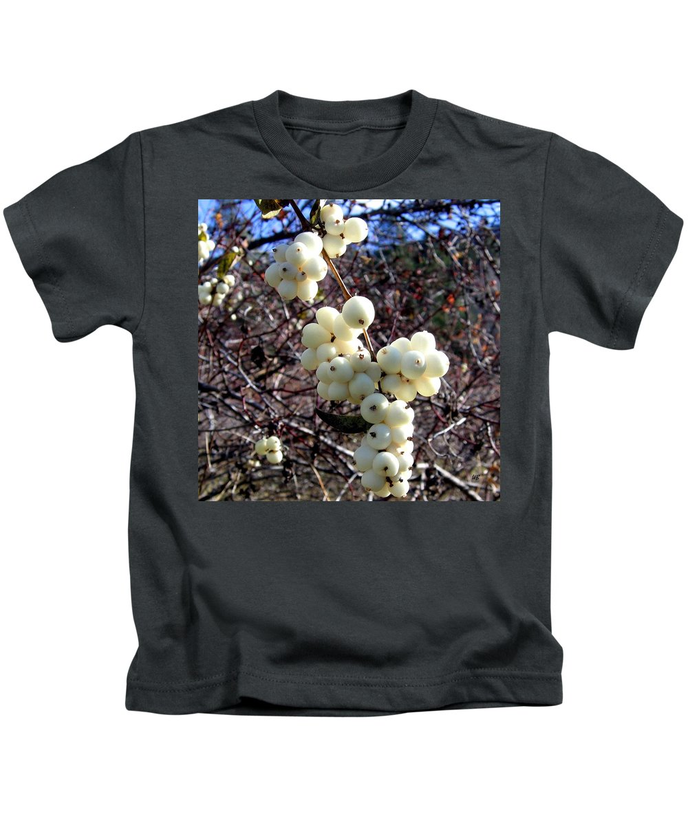 Autumn Kids T-Shirt featuring the photograph Snowberries by Will Borden