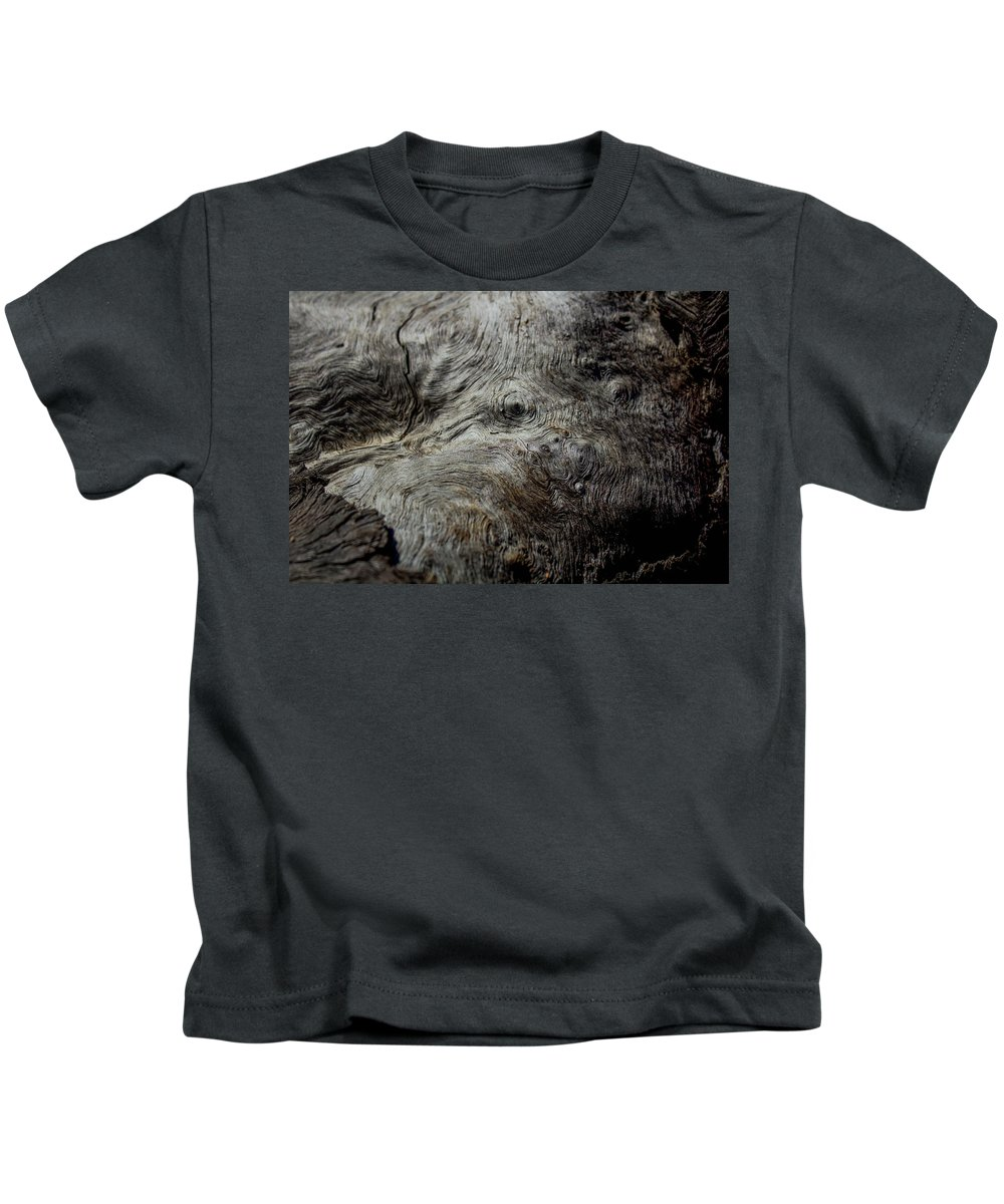 Macro Kids T-Shirt featuring the photograph Songlines Series by Sonja Czekalski