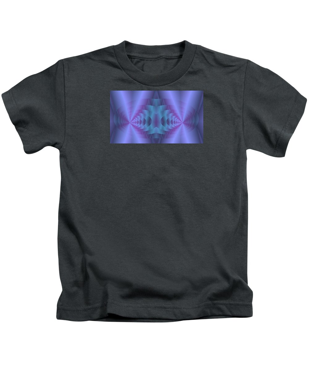 Spacial Conundrum Kids T-Shirt featuring the digital art Spacial Conundrum by Mike Breau