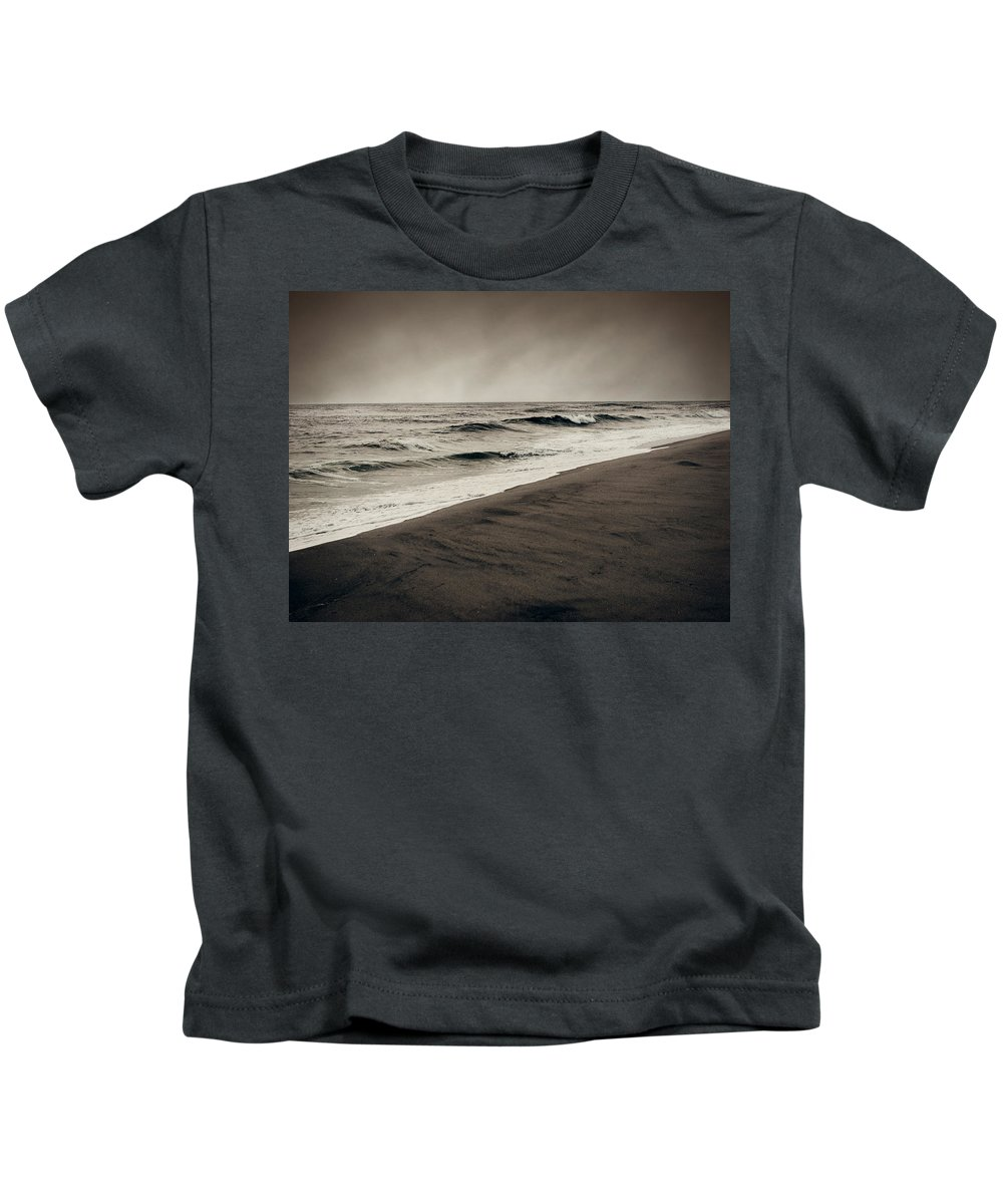 Ocean Kids T-Shirt featuring the photograph Spending My Days Escaping Memories by Dana DiPasquale