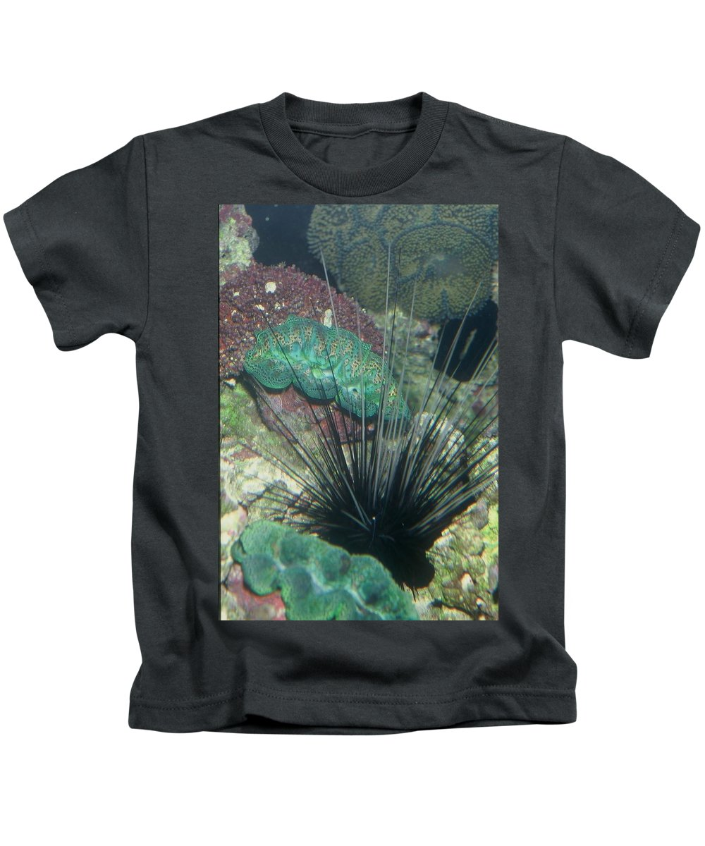 Nature Kids T-Shirt featuring the photograph Spiny by Kimberly Mohlenhoff