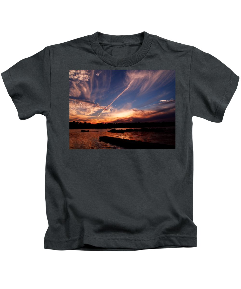Sky Kids T-Shirt featuring the photograph Spirits In The Sky by Gaby Swanson