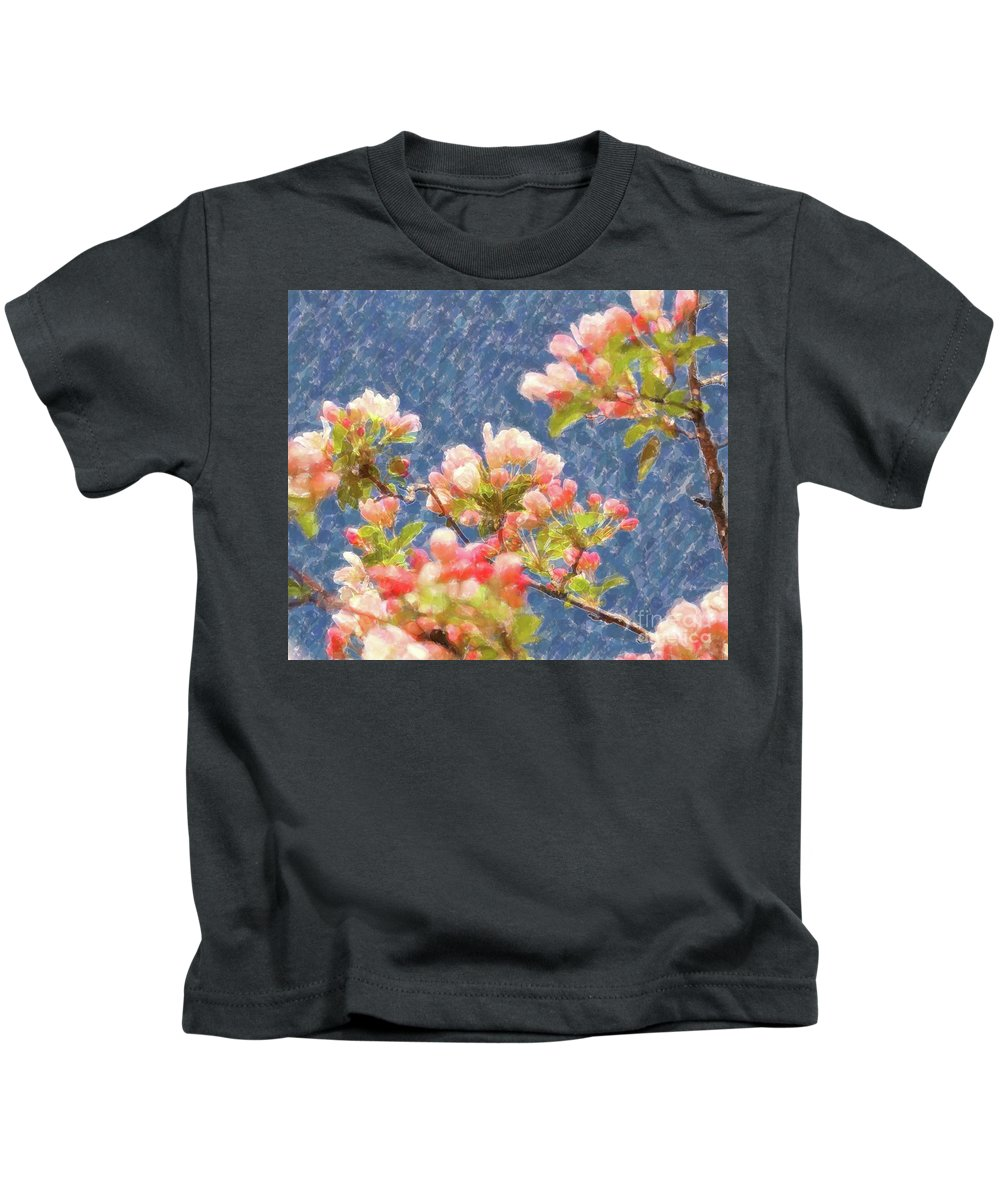 Spring Kids T-Shirt featuring the photograph Spring Blossoms by Kathleen Struckle