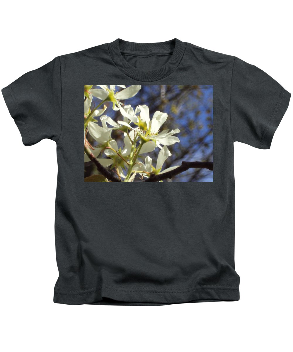 Kids T-Shirt featuring the photograph Spring Flowers by Line Gagne