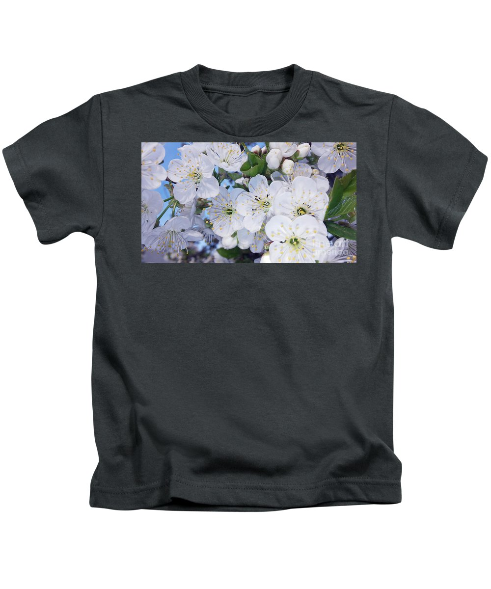 Blooming Tree Kids T-Shirt featuring the photograph Spring Time by Jasna Dragun