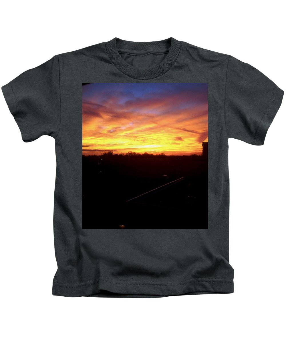 Window Kids T-Shirt featuring the photograph St. Anne's Wondow by Lord Frederick Lyle Morris - Disabled Veteran