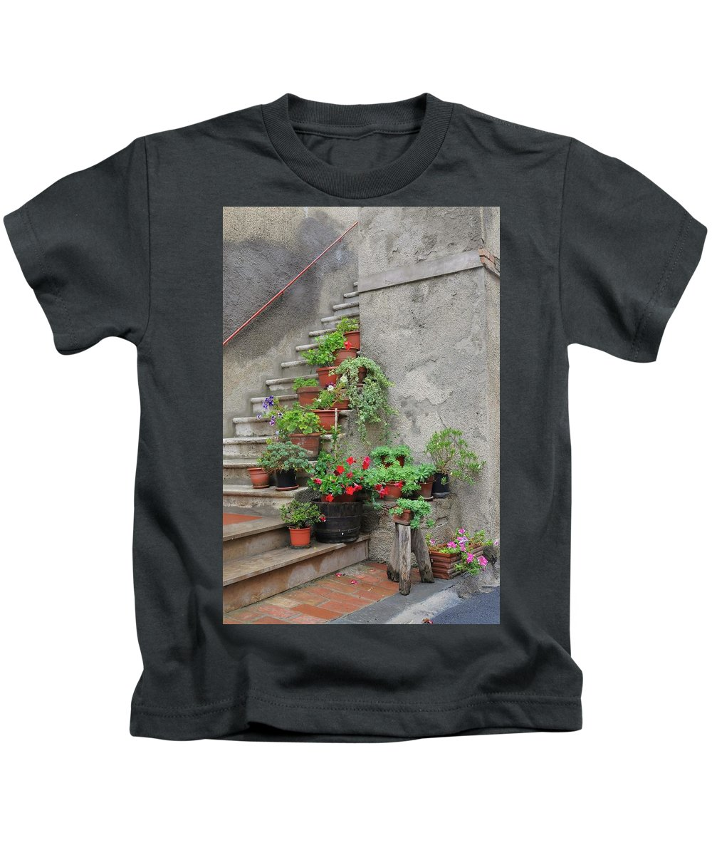 Europe Kids T-Shirt featuring the photograph Stairway To Heaven by Jim Benest