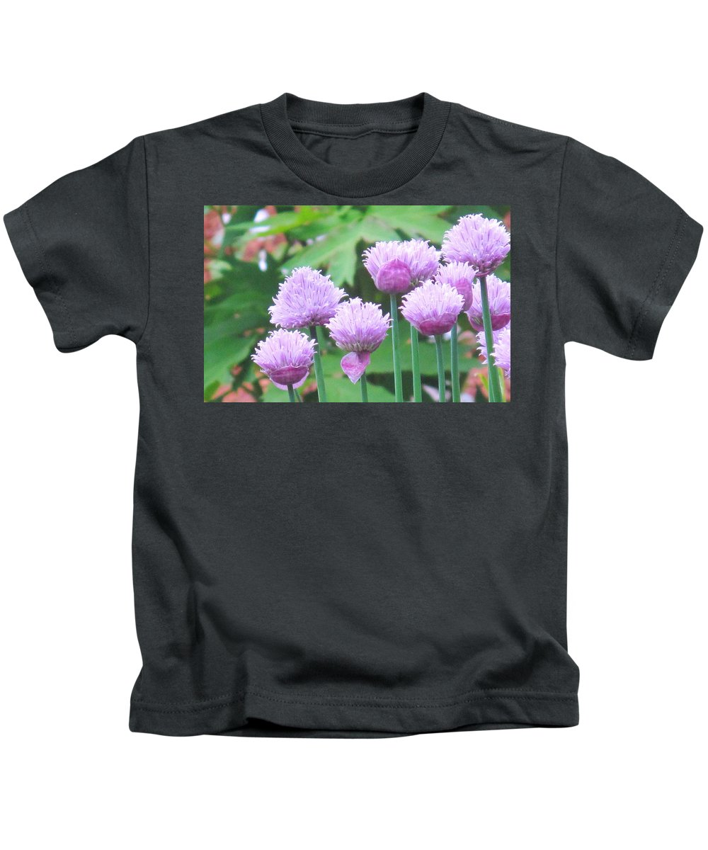 Flower Kids T-Shirt featuring the photograph Stand Tall by Ian MacDonald