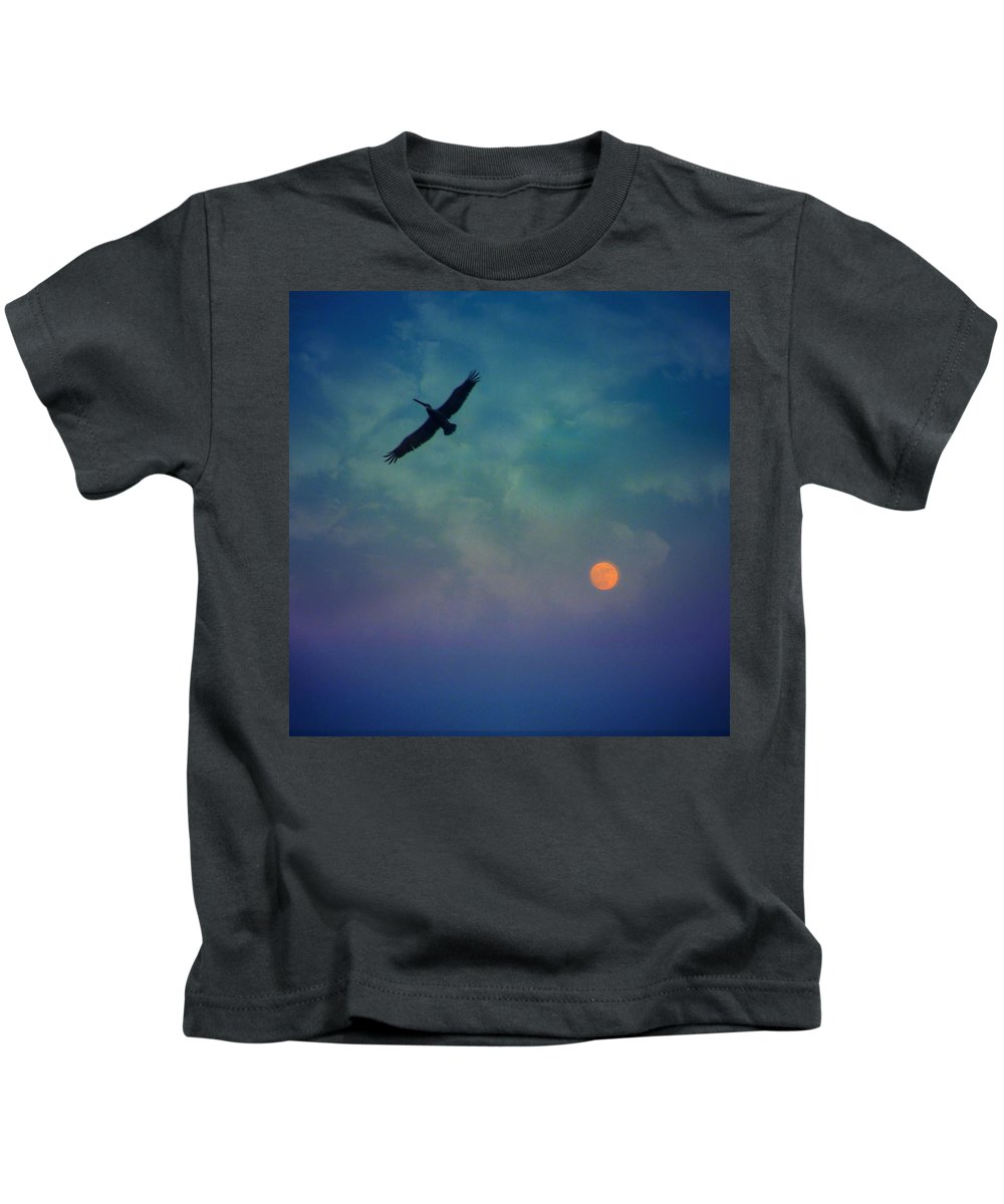 Still- Beneath The Giant Kids T-Shirt featuring the photograph Still- Beneath The Giant by Darin Baker