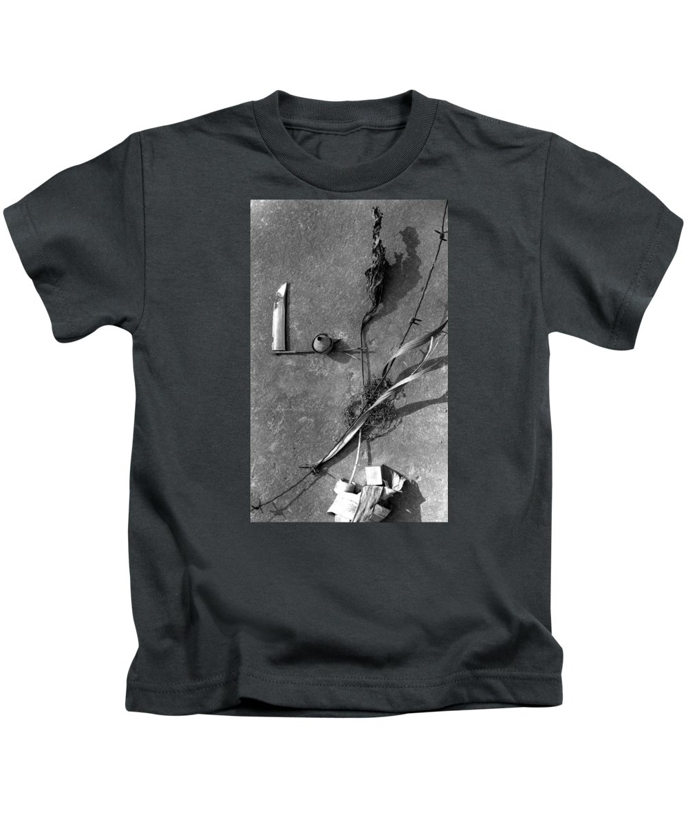 Still Life Kids T-Shirt featuring the photograph Still Forms by Ted M Tubbs